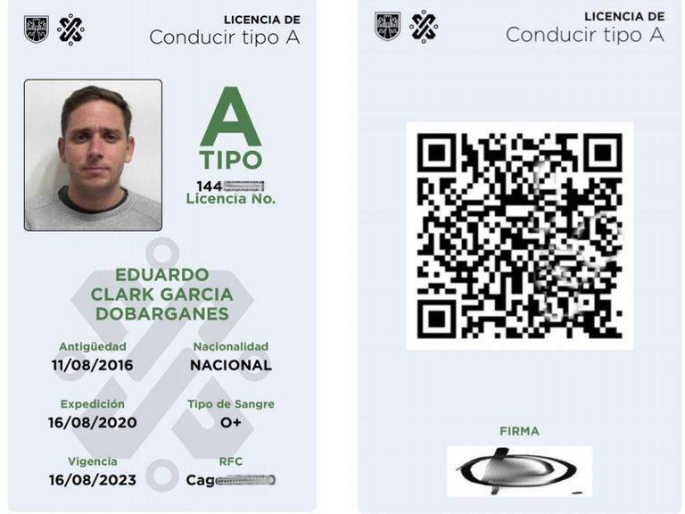 Licencia Tipo A - Licencia digital CDMX